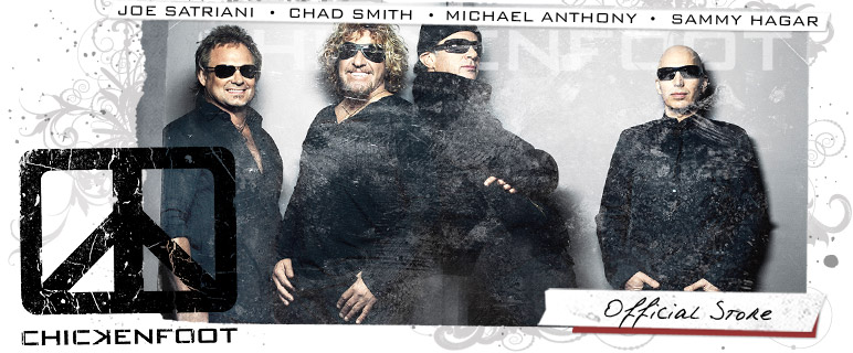 Chickenfoot Store - Shop Now